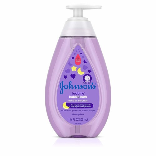 Johnson's Hypoallergenic Bedtime Baby Bubble Bath with NaturalCalm Aromas, 13.6 fl. Oz (Pack of 3)