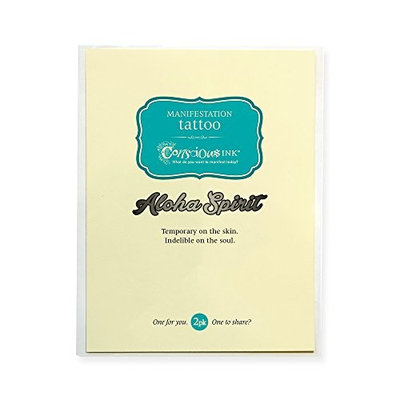 CONSCIOUS INK MANIFESTATION TATTOO 2-PACK