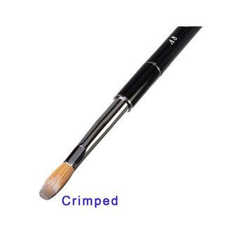 Daisy Beauty Professional Acrylic Nail Brush Powder Manicure Pedicure (Size #A8 Crimped)