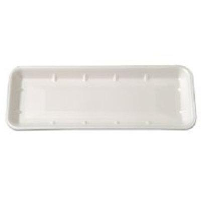 Supermarket Trays, White, Foam, 14 1/2 x 5 3/4 x 1
