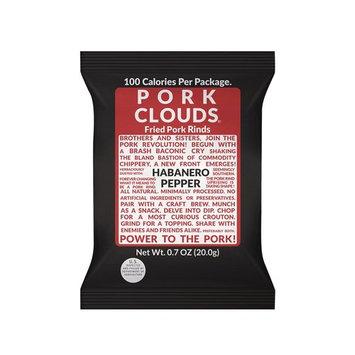 Pork Clouds - Habanero Pepper