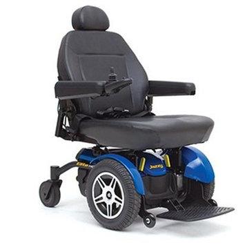 Pride Mobility - Jazzy Elite HD - Heavy Duty Power Chair - Jazzy Blue