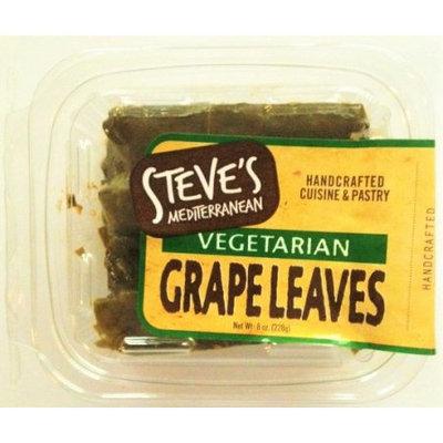 Steve's Backroom Steve's Mediterranean Chef Vegetarian Stuffed Grapeleaves