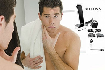 Medex Milex V Ultra-Sleek Rechargeable Hair, Mustache, Beard, and Body Clipper, Trimmer