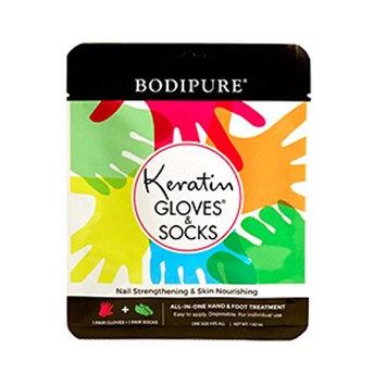 Bodipure Keratin Combo Pack Pair of Socks and Gloves