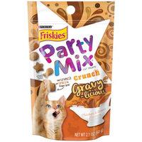 Friskies® Party Mix Crunch Gravy-licious Chicken & Gravy Flavors Cat Treats