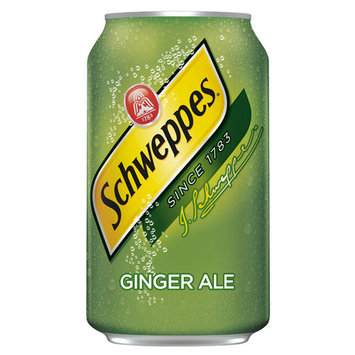 Schweppes Ginger Ale 12 oz Cans - Pack of 24