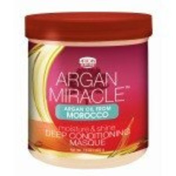 African Pride Argan Miracle Deep Conditioning Masque 15 oz. (Pack of 3)