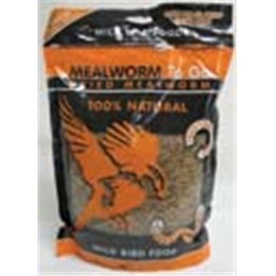 Unipet Mealworms to Go - Dried - Supersized Pack - 1.1 lb.