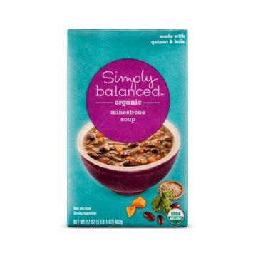 Organic Kale, Quinoa, and Minestrone Soup 17oz - Simply Balanced™