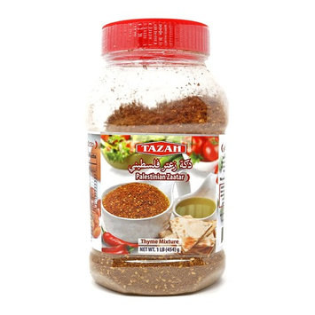 Tazah Palestinian Zaatar 1 Lb (Thyme Mixture)