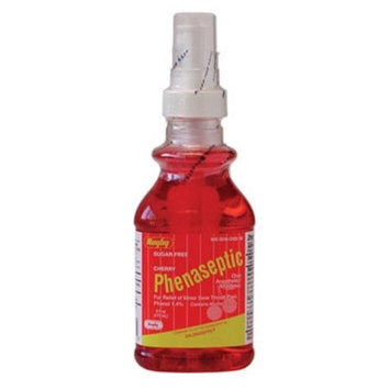 Watson Rugby Labs Phenaseptic Oral Anesthetic Analgestic Spray, Cherry, 6 oz, Watson Rugby
