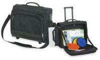Ddi Premium Rolling Laptop Case -Black (Pack Of 3)