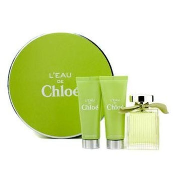 Chloe L'eau de Chloe for Women 3 Piece Set Includes: 3.4 oz Eau de Toilette Spray + 2.5 oz Perfumed Body Lotion + 2.5 oz Perfumed Shower Gel