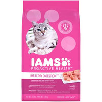Mars Petcare IAMS PROACTIVE HEALTH Sensitive Stomach Dry Cat Food 3.5 Pounds