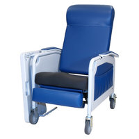 Winco Manufacturing Three Position Convalescent Recliner with Saddle Seat