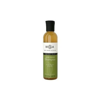 Max Green Alchemy Organic Formula Scalp Rescue Shampoo Value Size Bottle (16.5 Fluid Ounces) - Sulfate Free, Hydrates Dry Scalps From Dandruff Psoriasis And Seborrheic Dermatitis, Unisex, Color Safe