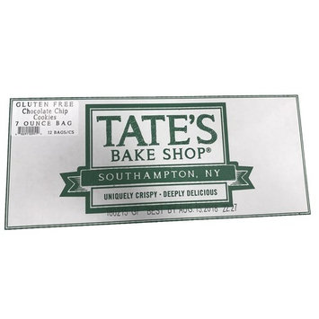 Tate's Bake Shop Gluten Free Cookies, Chocolate Chip, 12 Count (Pack of 12)