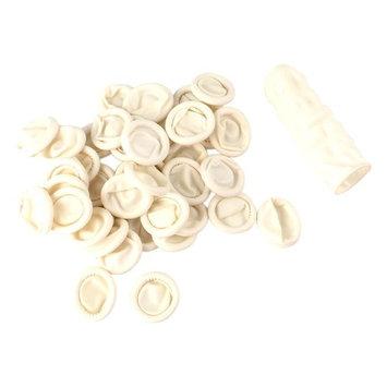 Tebery Pack of 800 Latex Finger Cots Rubber Protector Gloves Fingertips Protective Art Latex Tissue Finger Cot, 6 cm Length