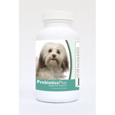Healthy Breeds Pet Supplements 60 Havanese Probiotic and Digestive Support Chewable Tablets for Dogs