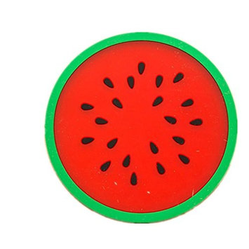 Water Bottle,HP95(TM) 1PC Fruit Coaster Colorful Silicone Cup Drinks Holder Mat Tableware Placemat for Home Office