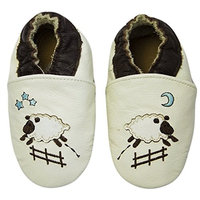 Ju Ju Be Rcc Polka Princess, Baby Girls' Crawling Baby Shoes ['6.5/7, Goodnight Sheep Beige]