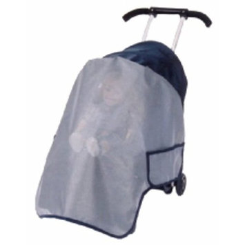 Sashas Wrap Around Sun, Wind and Insect Cover for Sit n Stroll/Triple Play Single Stroller