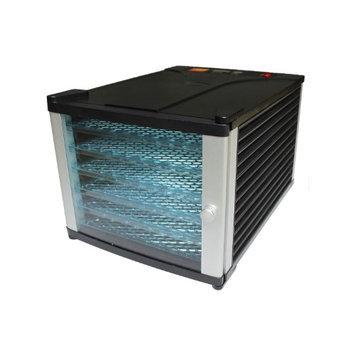 HomCom 6 Tray 630W Fruit and Vegetable Dryer Food Dehydrator w/Timer