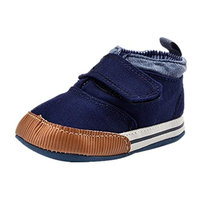 For 0-18 Mnoths Boys, Clode® Baby Boys Canvas Velcro Sneaker Anti-slip Soft Sole Toddler Shoes