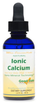 Good State Liquid Ionic Calcium Ultra Concentrate - 10 Drops Equals 50 Mg - 100 Servings Per Bottle