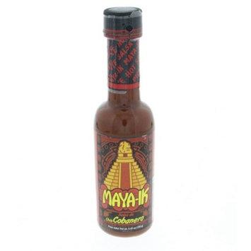 Alimenticios Centroamericanos Maya-IK Cobanero Pepper Hot Sauce 5.45iz - Salsa de Chile Cobanero (Pack of 18)