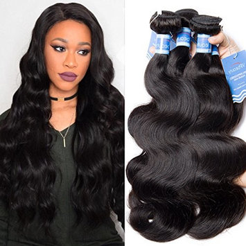 Body Wave Virgin Human Hair Bundle Deals 10A Human Hair Extention Single One Bundle(10 Inch)