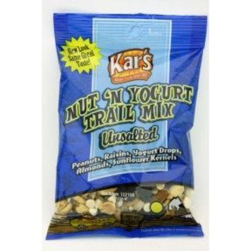 Kars Unsalted Trail Mix Nut N Yogurt (Case of 48)