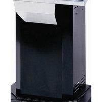 Optimum Stainless Steel Column in Black
