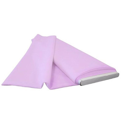 LA Linen PopBolt-10Yrd-LilacP45 10 Yards Polyester Poplin Flat Fold Lilac