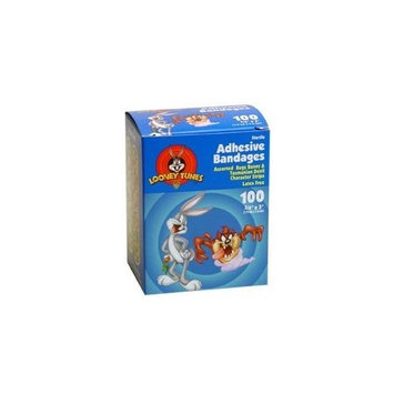 Kids Bugs & Taz Bandages 3/4'' 100/box