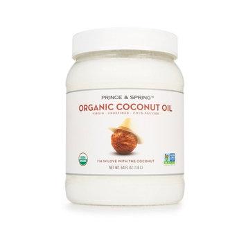 Prince & Spring Organic Coconut Oil, 54 Ounce