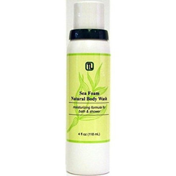 Sea Foam Natural Body Wash 4 oz