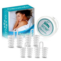 Anti Snoring Solutions, Nasal Dilators, Nose Vent Anti Snoring Device Snore Stopper – Snoring Solution Sleep Aid Device Set of 4 by Breathe Ezz