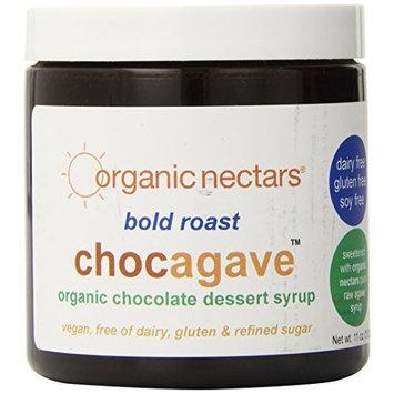 Organic Nectars Organic Bold Roast, Chocagave, Dessert Syrup, 11-Ounce Jars (Pack of 3)