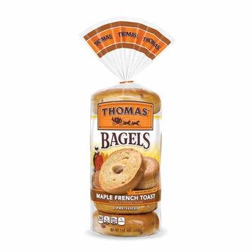 Thomas' Maple French Toast Bagel, 6 count, 20 oz