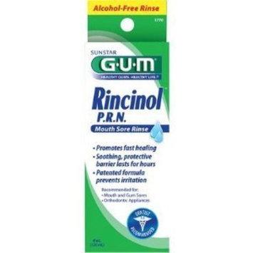 G-U-M Rincinol P.R.N. Mouth Sore Rinse 4 oz by GUM