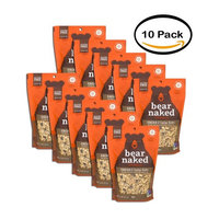 PACK OF 10 - Bear Naked Granola Cacao & Cashew Butter Cereal, 11.0 OZ