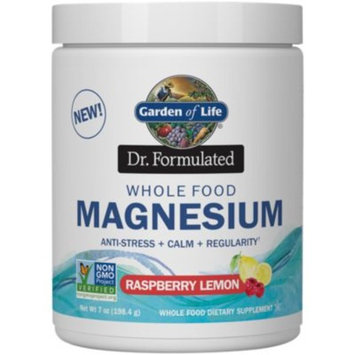 Dr. Formulated Magnesium Raspberry Lemon (8 Ounces Powder) by Garden of Life at the Vitamin Shoppe