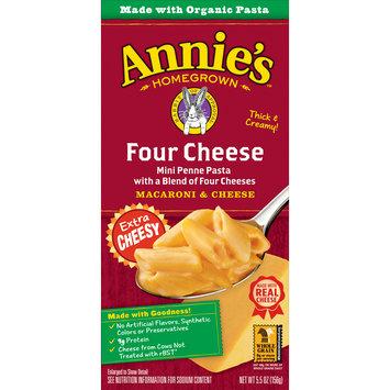 Annie's Four Cheese Macaroni and Cheese, 5.5 oz Box