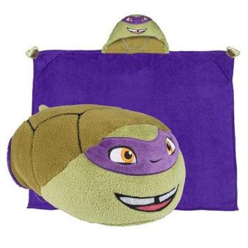 Comfy Critters CCNICK0TMNTDO00000 Nick Mutant Ninja Turtles Donatello Blanket