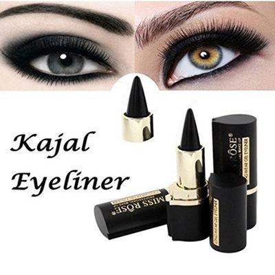 Laimeng,Cosmetic Longwear Eye Liner Wateroroof Black Gel Eye Liner Stickers Makeup