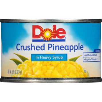 Dole Packaged Foods Discontinued Dole 8oz Crushed Pineapple in Syrup