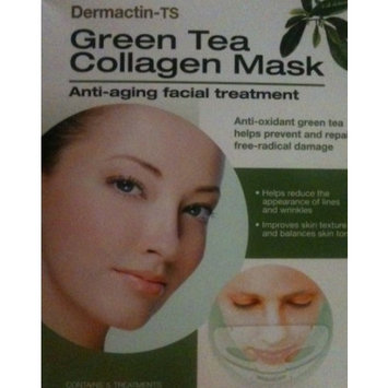 Dermactin-TS Green Tea Collagen Mask - 5 Masks by Fiske Industries