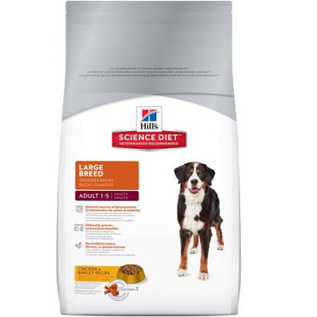 Hills Hill's Science Diet Large Breed Adult Dog Food, 35lbs